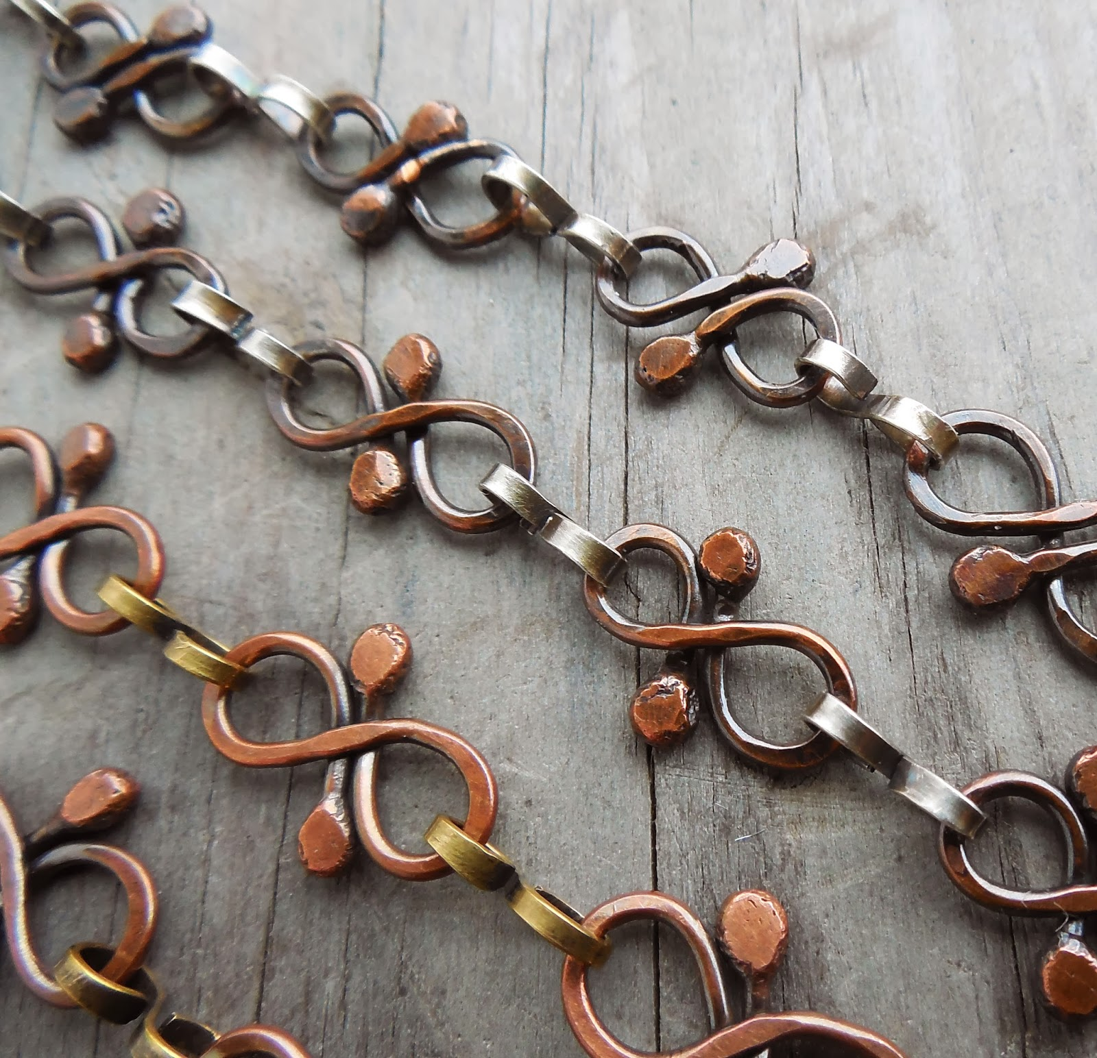 Fun with chain and no soldering for How to solder copper jewelry