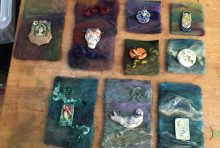 Painting with…. Fiber? Felted Tapestries!